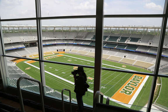 McLane Stadium cost $266 million and is next to the Baylor campus on the Brazos River. It replaces  64-year-old Floyd Casey Stadium.