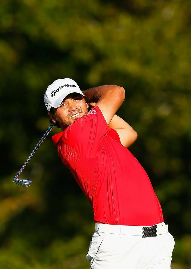 Jason Day shares the lead at the Deutsche Bank Championship. Photo: Jared Wickerham, Getty Images