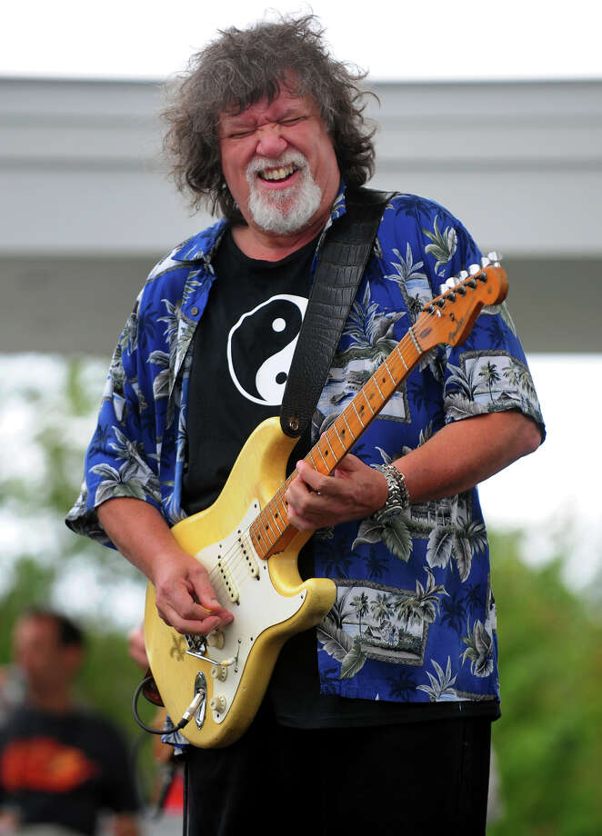 Raw Oyster Cult frontman and guitarist Dave Malone performing at the 7th Annual Blues Views and BBQ Festival at the Levitt Pavillion in Westport, Conn. on Saturday, Aug. 30, 2014. Photo: Christian Abraham / Connecticut Post