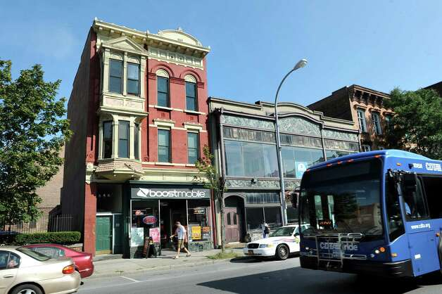 View of 20 Fourth St., left, on Tuesday, Aug. 26, 2014, in Troy, N.Y. (Cindy Schultz / Times Union) Photo: Cindy Schultz / 00028336A