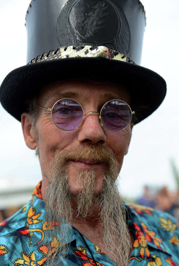 Bruce Rieder, of Vernon, attends the 7th Annual Blues Views and BBQ Festival at the Levitt Pavillion in Westport, Conn. on Saturday, Aug. 30, 2014. Photo: Christian Abraham / Connecticut Post