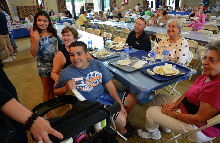 "The annual ""Odyssey: A Greek Festival"" held at St. Barbara Greek Orthodox Church in Orange, Conn. on Saturday, Aug. 30, 2014. The festival continues on Sunday from noon to 10 p.m. and on Monday from noon to 8 p.m. Photo: Christian Abraham / Connecticut Post"