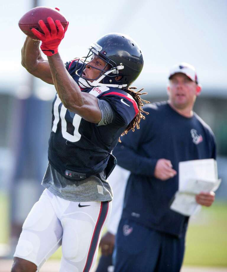 Although not much was asked of DeAndre Hopkins during the preseason, the Texans will expect much from him this season. Photo: Brett Coomer, Staff / © 2014 Houston Chronicle