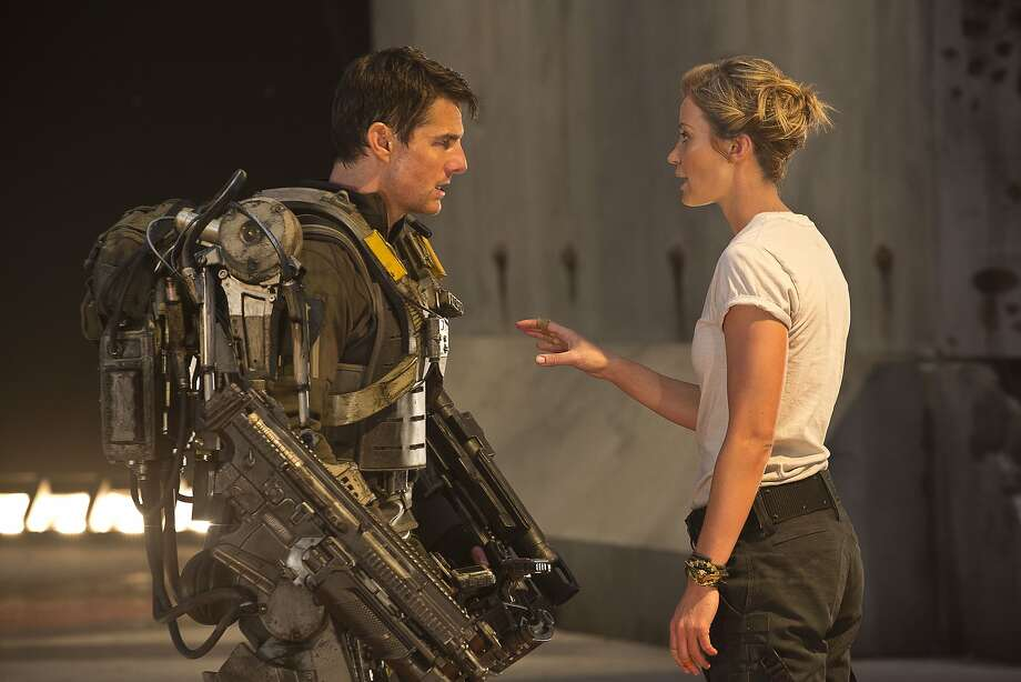 """Edge of Tomorrow,"" with Tom Cruise and Emily Blunt,  was highly acclaimed but got poor response at the box office. Photo: David James, Associated Press"