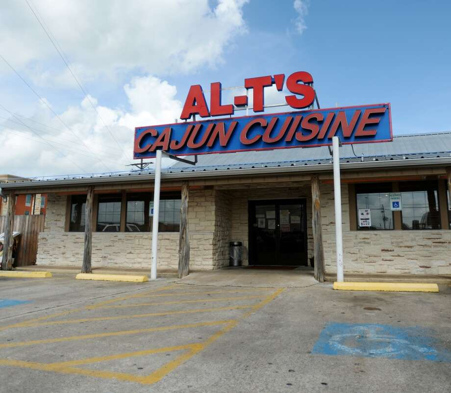 Pictured is the facade of Al-T's in Winnie. Al-T's Cajun Cuisine in Winnie is the Cat5 Restaurant of the Week for August 28, 2014. Photo taken Wednesday 8/20/14 Jake Daniels/@JakeD_in_SETX