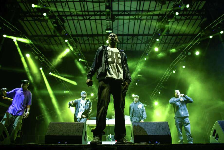 Members of the hip hop group Wu-Tang Clan perform on the Main Stage. Photo: JOSHUA TRUJILLO, SEATTLEPI.COM / SEATTLEPI.COM
