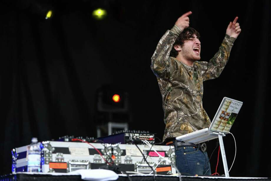 DJ Zinc performs with rapper Danny Brown on the Fisher Green Stage. Photo: JOSHUA TRUJILLO, SEATTLEPI.COM / SEATTLEPI.COM