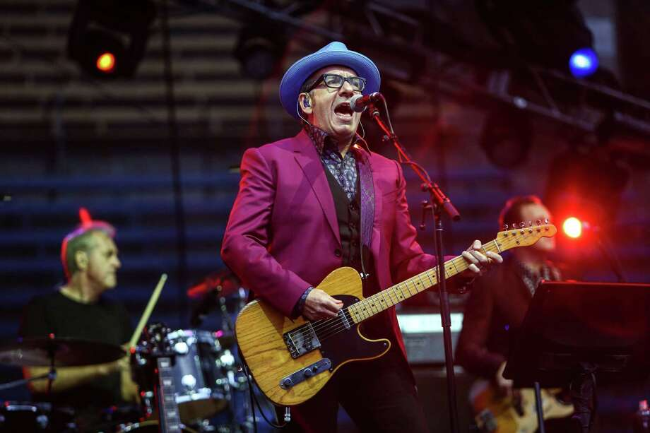 Elvis Costello performs on the Main Stage. Photo: JOSHUA TRUJILLO, SEATTLEPI.COM / SEATTLEPI.COM