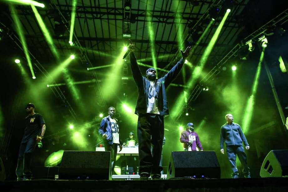 Members of the hip hop group Wu-Tang Clan perform on the Main Stage. Photo: JOSHUA TRUJILLO, SEATTLEPI.COM / SEATTLEPI.COM