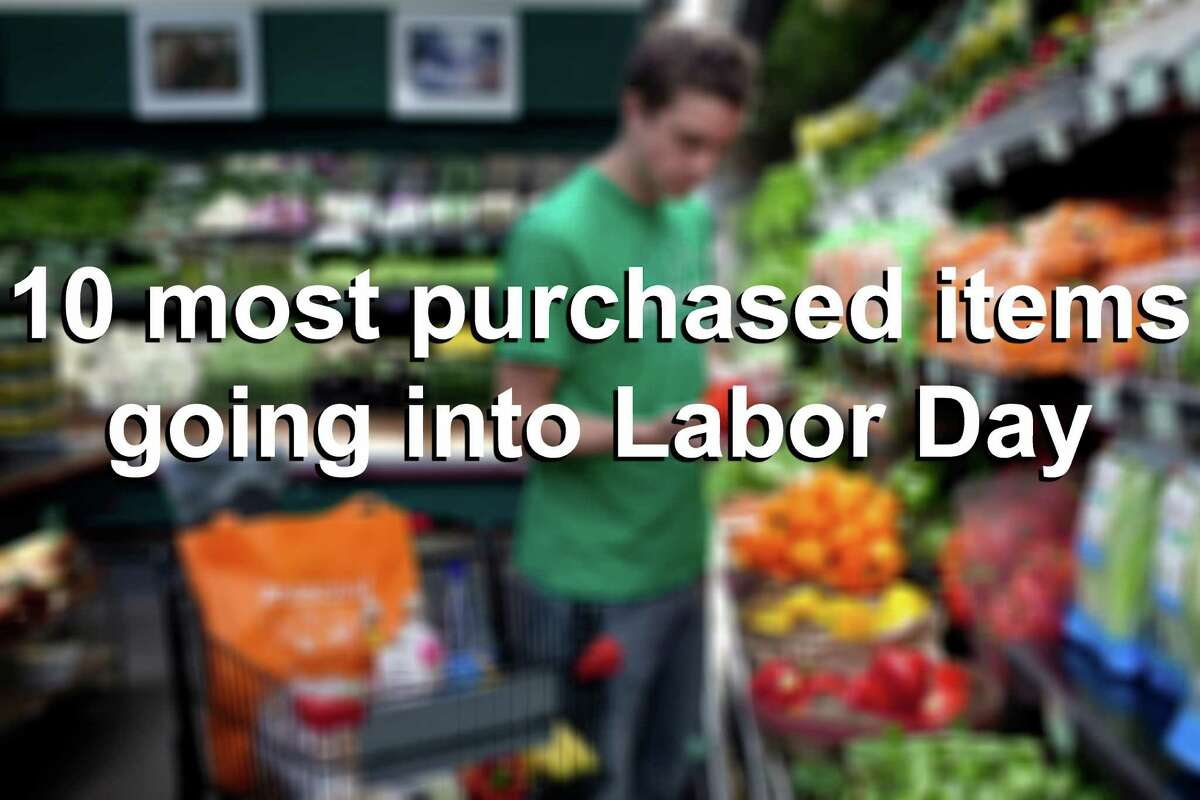 We checked with H-E-B to find out what are, generally, the 10 most purchased items going into Labor Day from their stores.