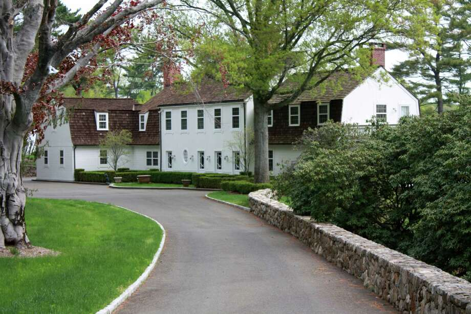 The property at 2644 Bronson Road is on the market for $8,500,000. Photo: Contributed Photo / Fairfield Citizen