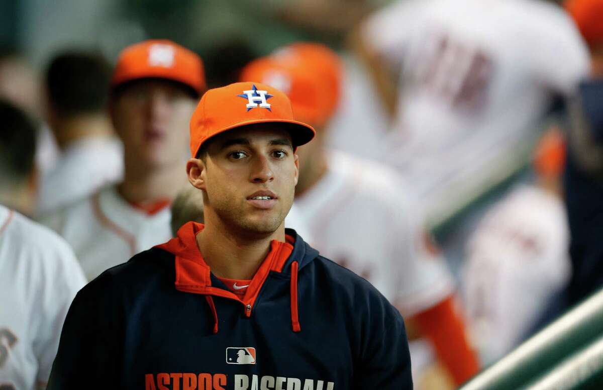 GEORGE SPRINGER, ASTROS Season: 2014 Clubbed 20 homers and drove in 51 runs in 78 games and appeared on a Sports Illustrated cover before his season was ended by injury.