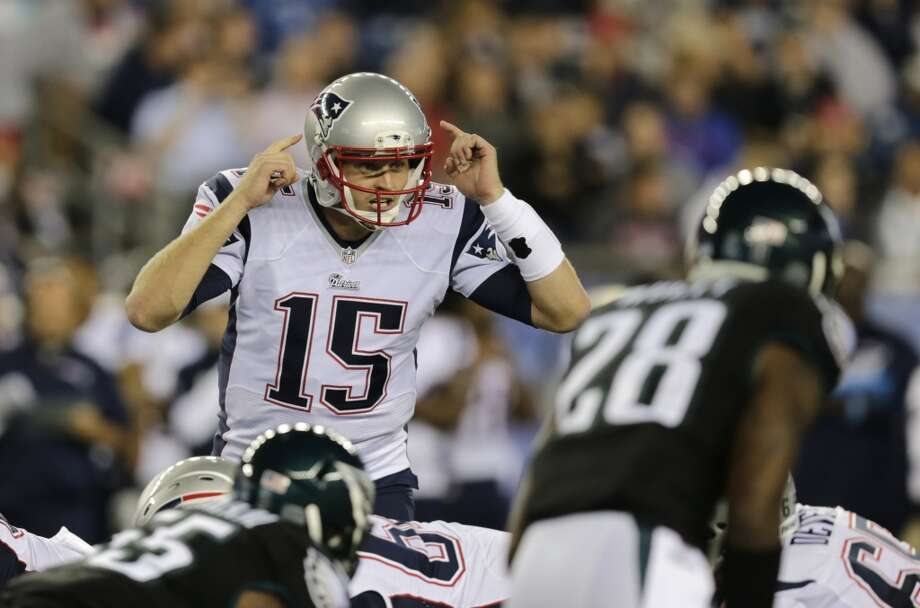 New England Patriots quarterback Ryan Mallett (15) in the second half of an NFL preseason football game Friday, Aug. 15, 2014, in Foxborough, Mass. (AP Photo/Charles Krupa) Photo: Charles Krupa, Associated Press