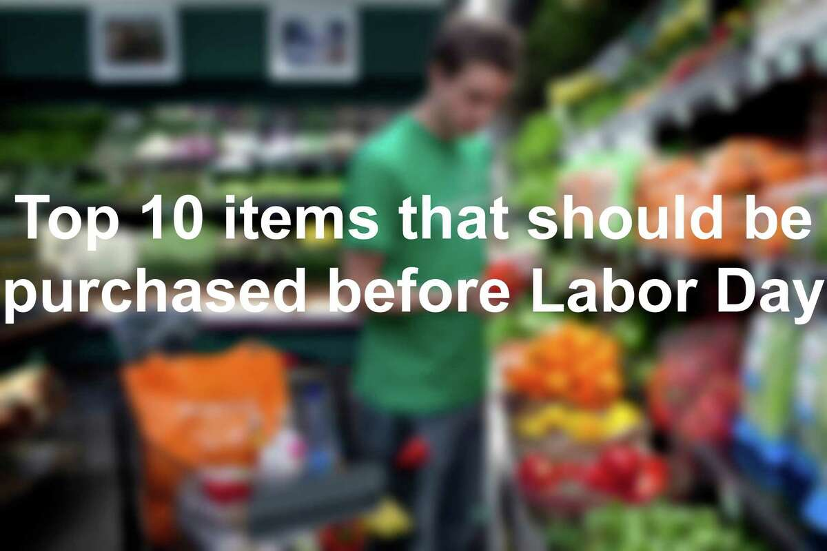 Now for 10 items we suggest you will need to pick up for a good Labor Day party.