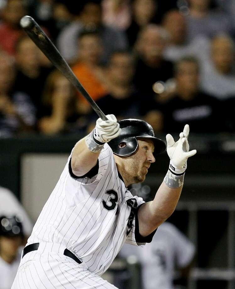 Adam Dunn has 20 home runs this season and 460 in his 14-year career. Photo: Charles Rex Arbogast, Associated Press