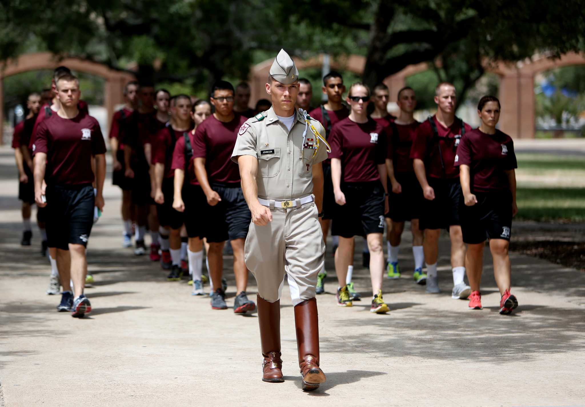 a m s corps of cadets sees ranks swell as academics emphasized a m s corps of cadets sees ranks swell as academics emphasized houston chronicle