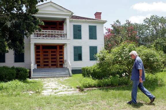 """Don Carleton, PhD., Executive Director and J.R. Parten Chair in the Archives of American History , says the McGregor House in the University of Texas' Winedale Historical Complex says 'there is no crisis at Winedale and the building remain in good shape."""""""