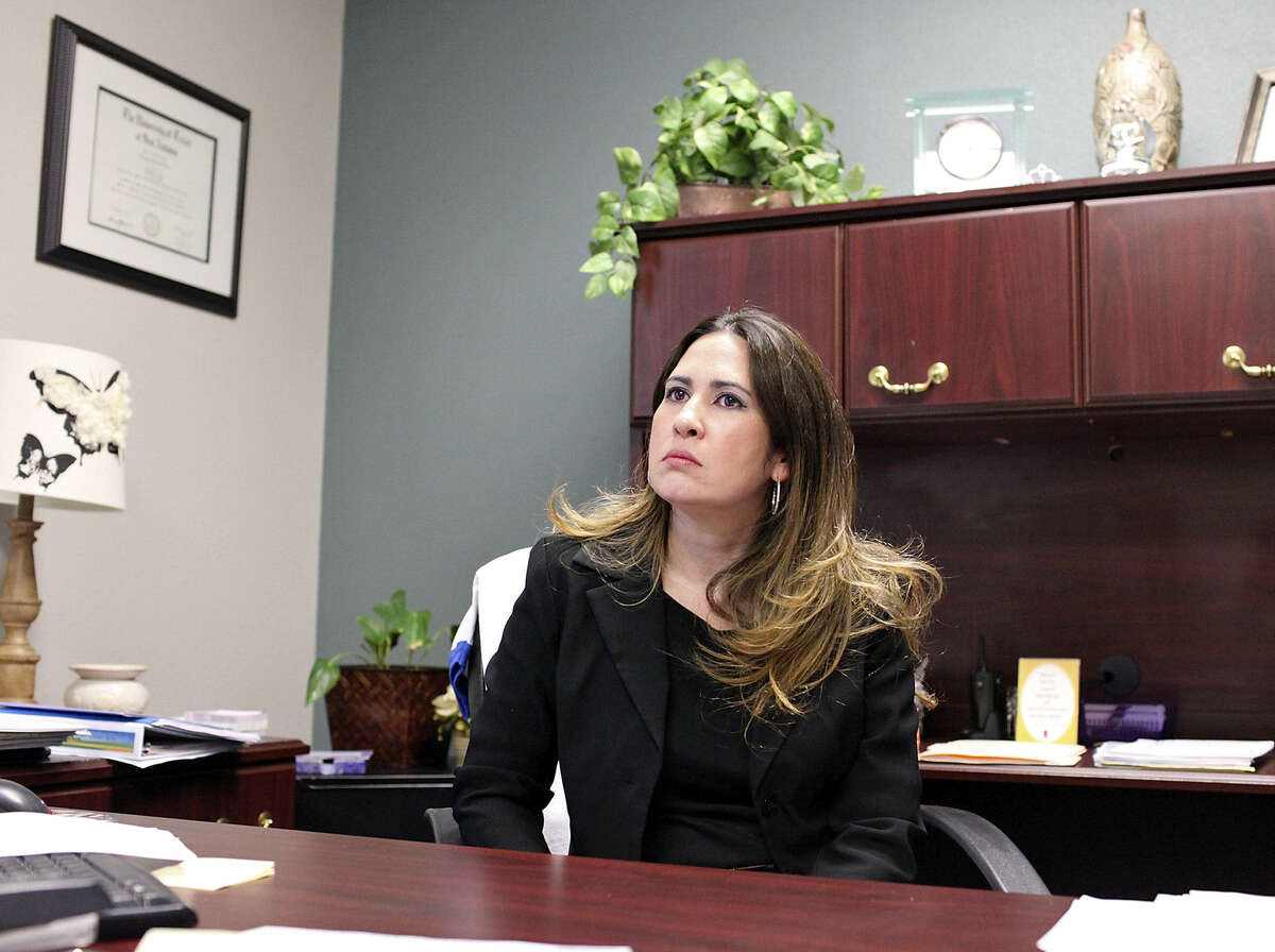 Christina Treviño, principal of Barrera Veterans Elementary, took over the failing campus in its first year using the Teacher Advancement Program for evaluating educators. Last month, the school had improved to state standards.