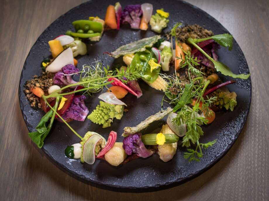 The Vegetable Garden at Aveline in San Francisco. Photo: John Storey, Special To The Chronicle