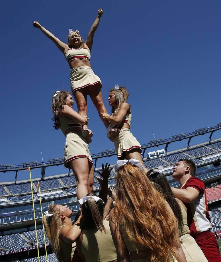 "A list of ""Hottest College Cheerleading Squads"" made it clear that Texas girls are the prettiest.Of 12 nationwide universities, four from Texas made the list, released by entertainment website Zuufy.com.