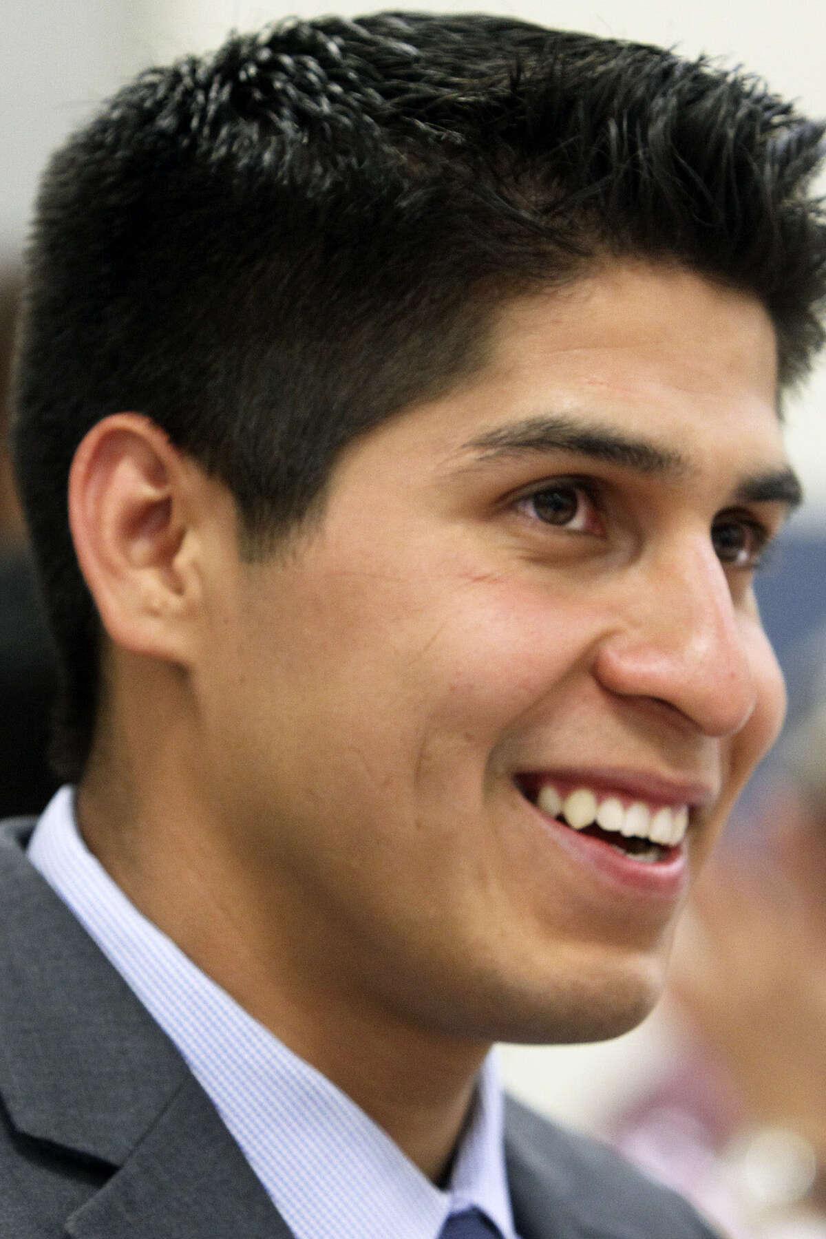 Rey Saldaña represents District 4 on the San Antonio City Council.