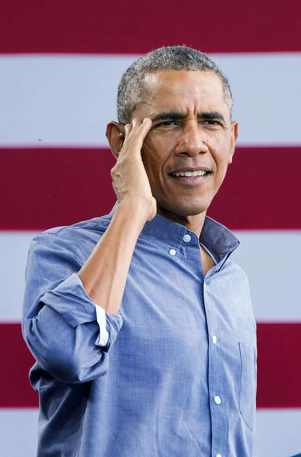 President Barack Obama speaks during Laborfest in Milwaukee, Wisconsin, September 1, 2014.  Photo: Jim Watson, AFP/Getty Images