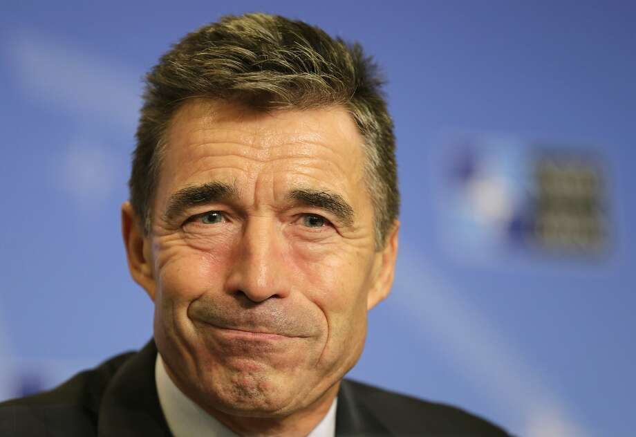 NATO Secretary-General Anders Fogh Rasmussen is calling for creating a force, stockpiling materiel. Photo: Yves Logghe, Associated Press