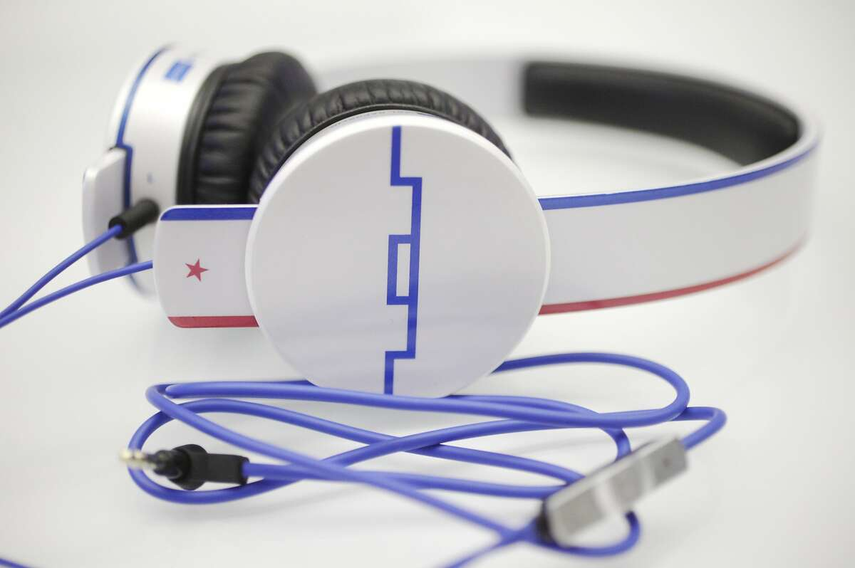 Anthem Tracks HD Headphones inspired by Michael Phelps ($149.99) pictured July 25, 2014 at the Sol Republic office in San Francisco, Calif.