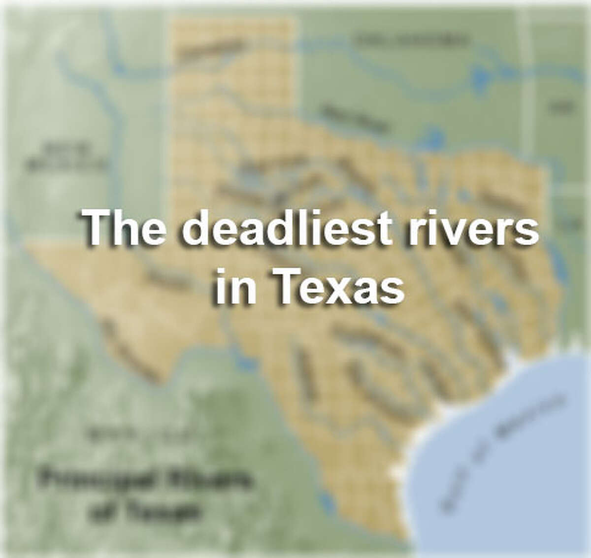 At least 125 people died on rivers in Texas since 2010. Explore this gallery to see the 12 rivers in the Lone Star State that have had more than two reported deaths since 2010. Explore this Express-News database for all 125 deaths sorted by river, cause and date.
