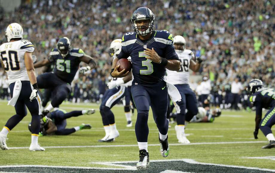 Russell Wilson hardly needs a Third-Year Leap after winning the Super Bowl as an NFL sophomore. Photo: Stephen Brashear, Associated Press