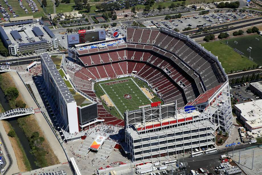 Levi's Stadium hosts the first preseason football game between the San Francisco 49ers and the Denver Broncos in Santa Clara, CA, Sunday, August 17, 2014. Photo: Michael Short, The Chronicle