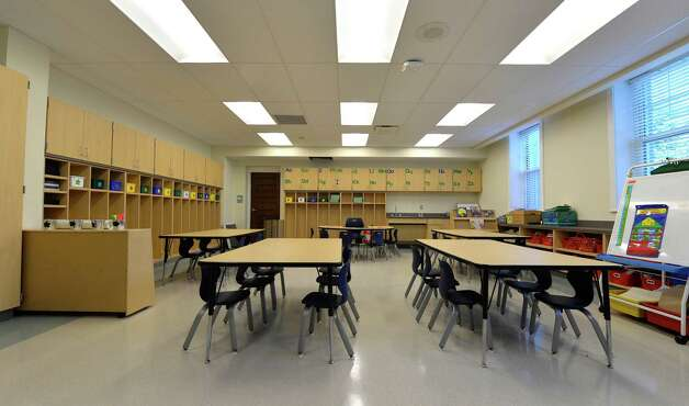 Interior view of a kindergarten class at the newly renovated Malta Avenue Elementary School Thursday afternoon, Aug. 28, 2014, in Ballston Spa, N.Y.   (Skip Dickstein/Times Union) Photo: SKIP DICKSTEIN / 00028357A