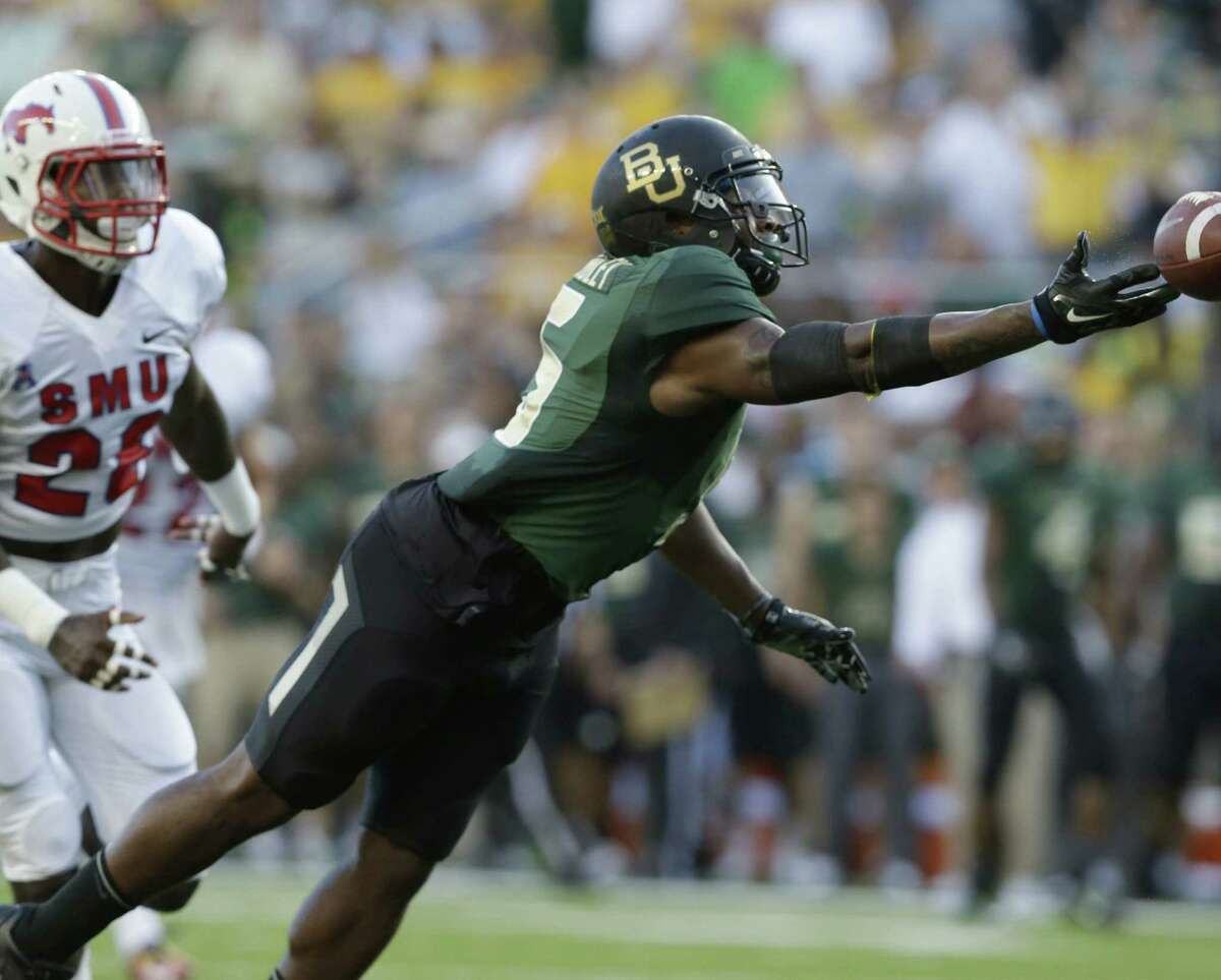 Baylor receiver Antwan Goodley sustained a quadriceps injury during the second offensive series in Sunday's 45-0 victory over SMU in Waco.
