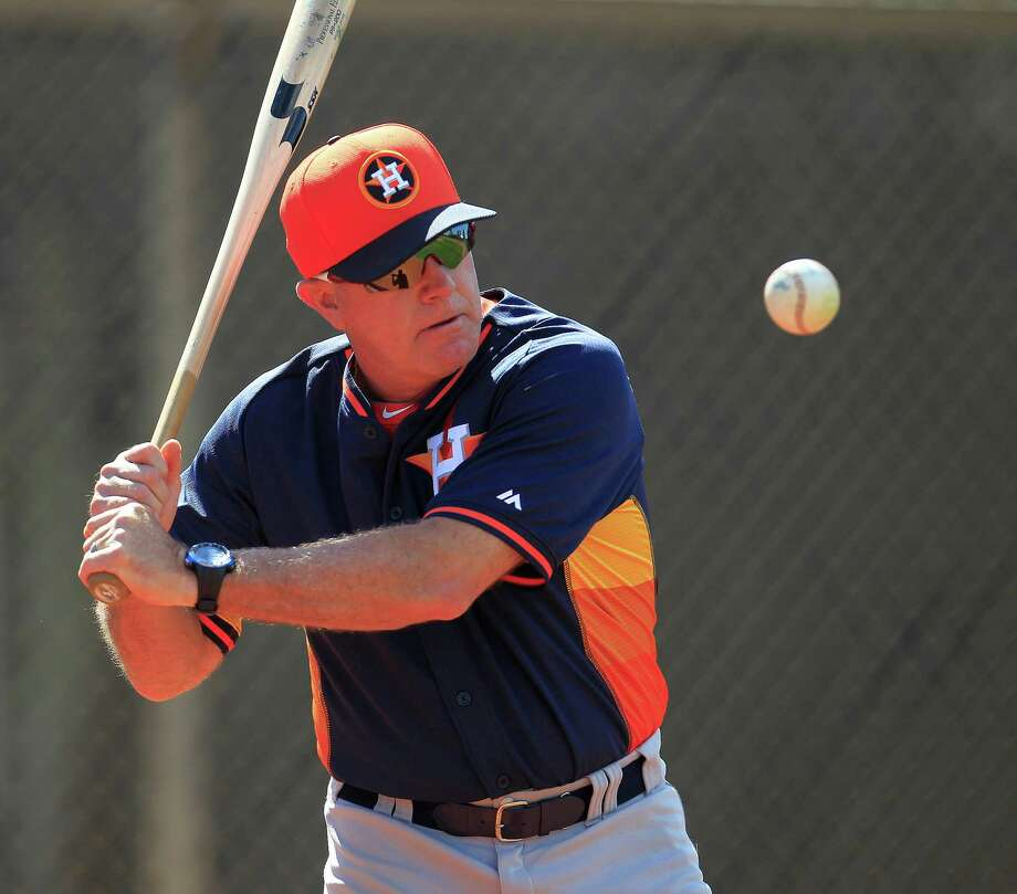 Tom Lawless spent most of this season as an infield instructor in the Astros organization but managed Class AAA Oklahoma City for a spell. Photo: Karen Warren, Staff / © 2013 Houston Chronicle