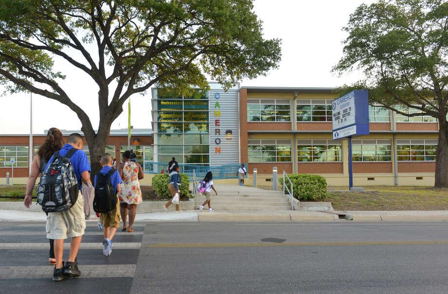 Cameron Elementary School San Antonio ISD Grade: F Region rank: 331 Photo: Robin Jerstad