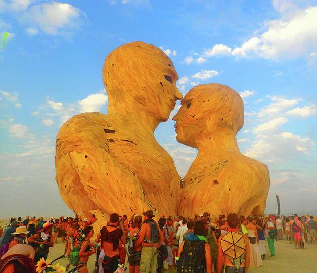 Burning Man 2014. Read