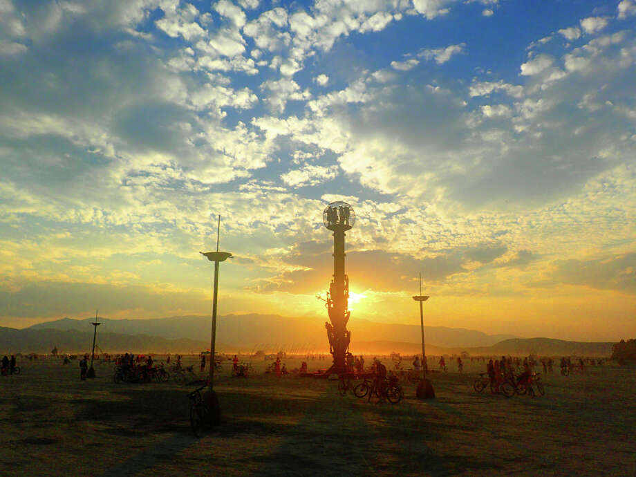 Bryan Tedrick's Minaret, sunrise. Or is that sunset? I sort of lost track. Photo: Mark Morford