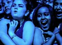 Fans listen to Foster The People on the third and final day of Bumbershoot, Seattle's annual music and arts festival, photographed Monday, September 1, 2014, in Seattle, Washington.