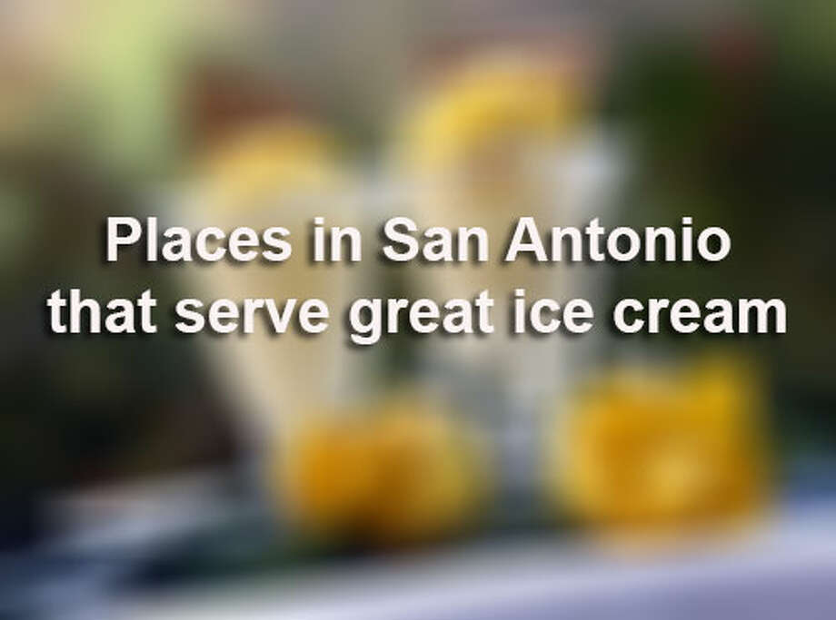Express-News Taste team's picks for some places in San Antonio that serve great ice creams. Read more on ExpressNews.com / © 2013 San Antonio Express-News