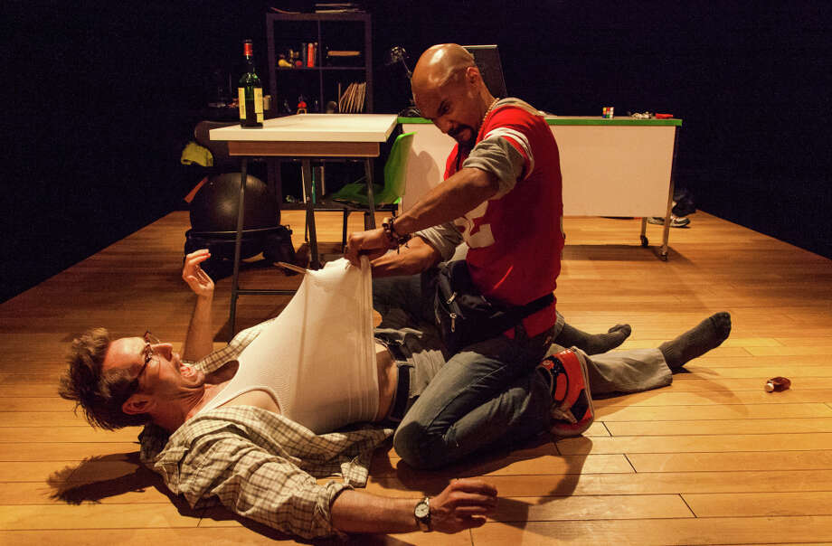 "Walker Hare, left, and Luis Vega in ""Campo Maldito"" at San Francisco Fringe Festival Photo: Will Given / ONLINE_YES"