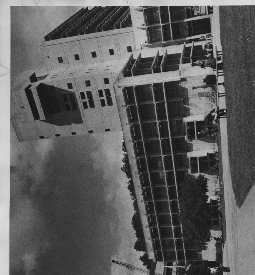 "While we're in the neighborhood: ""No photo of UC-Berkeley College of Environmental Design's ghastly home?"" asked   rousta_bout. Done! And for the record, Wurster Hall looks pretty much the same now as when it opened in 1964, Photo: Chronicle File"