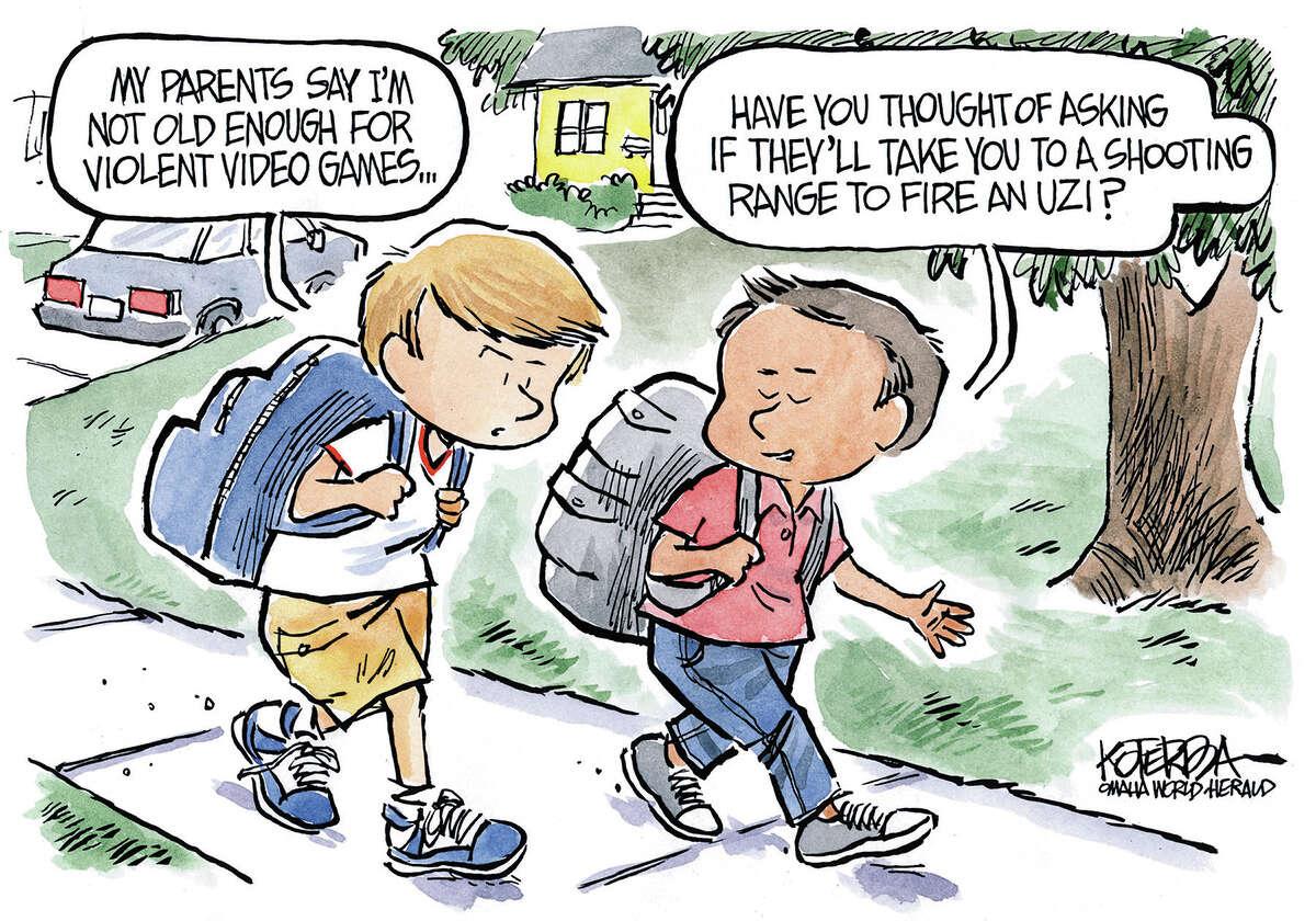 Jeff Koterba cartoon for August 29, 2014