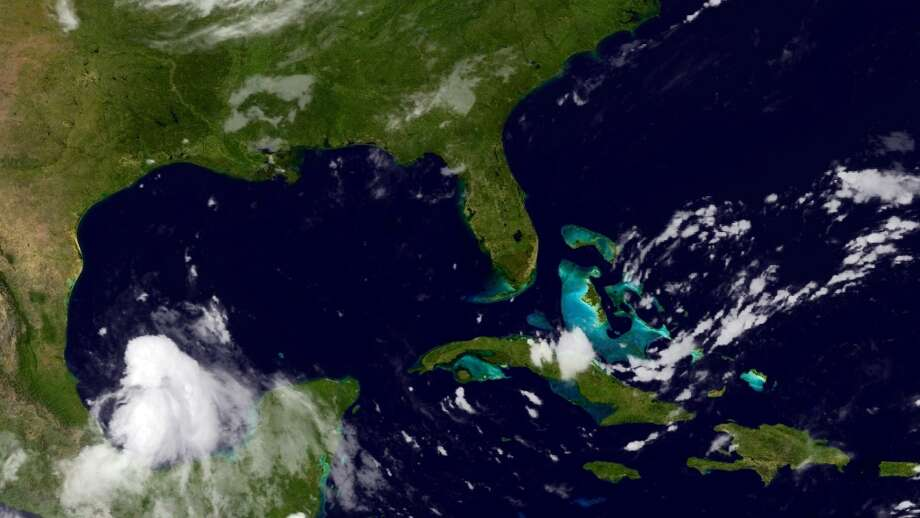 Dolly formed in the southern Gulf of Mexico Sept. 2, 2014. (NOAA)