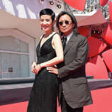 "Sandra Ng and director Peter Ho-sun Chan attend the ""Dearest"" (Quin'ai De) premiere during the 71st Venice Film Festival on August 28, 2014 in Venice, Italy."