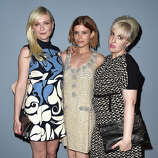 Kirsten Dunst, Kate Mara and Lena Dunham attend the 'Miu Miu Women's Tales #7 - #8' - Premiere during the 71st Venice Film Festival on August 28, 2014 in Venice, Italy.