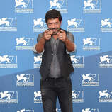 Actor Pierfrancesco Favino attends the 'Senza Nessuna Pieta' photocall during the 71st Venice Film Festival on August 30, 2014 in Venice, Italy.