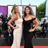 Camila Sola (L) and Lucila Sola attend the 'Manglehorn' premiere during 71st Venice Film Festival on August 30, 2014 in Venice, Italy.