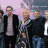 Clement Silbony, Nicolas Bouchaud, Zazie de Paris, Mario Fanfani and Mathieu Spinosi attend 'Les Nuits d'ete' photocall during the 71st Venice Film Festival on  September 1, 2014 in Venice, Italy.