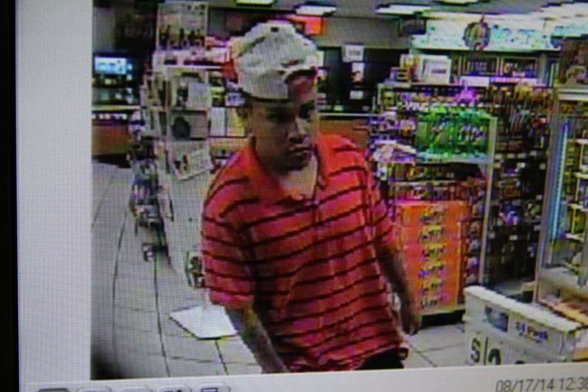 San Antonio police are asking for the public's help finding two men suspected of attacking a witness with a knife while stealing a 12-pack of Budweiser from a convenience store earlier this month.