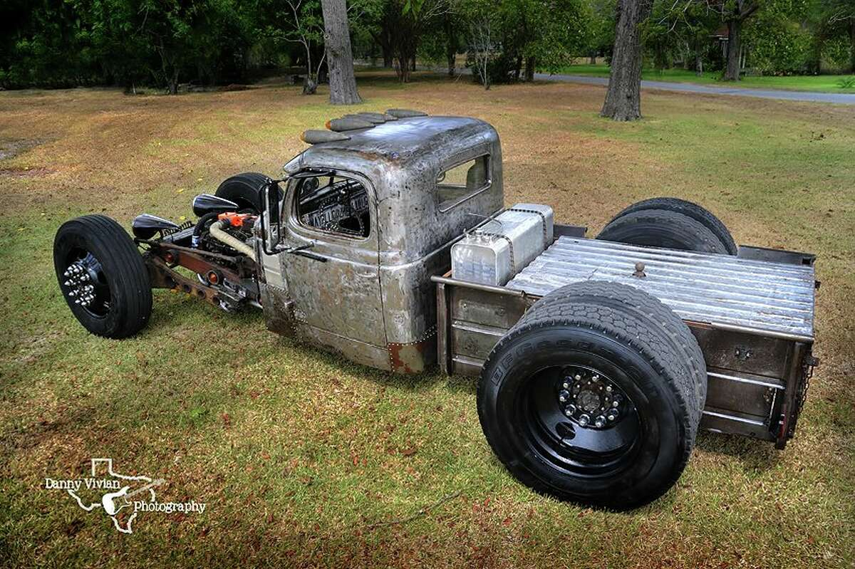 A custom car shop in southeast Texas will face some of the top hot rod builders in the nation in a contest that favors substance over style. Pictured, a